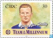 Briefmarken - Irland - Gaelic Football Team Millennium