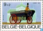 Postzegels - België [BEL] - Oude Belgische auto's