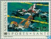 Postage Stamps - United Nations - Geneva - Health Through Sport