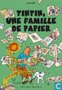 Poster - Comic books - Airgé : Tintin, une famille de papier
