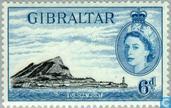 Postage Stamps - Gibraltar - Views