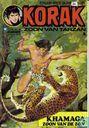 Comics - Korak - Khamaga zoon van de zon