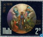Postage Stamps - Malta - Hl. Patron saint joseph church 100 years