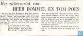 Bandes dessinées - Tom Pouce - Het ziekteverlof van HEER BOMMEL EN TOM POES