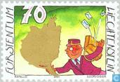 Postzegels - Liechtenstein - Groetzegels