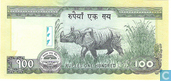 Banknotes - Nepal - Nepal 100 Rupees ND(2007-2009)  - P64a