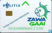 Phone cards - PTT Telecom - Politie Zaanstreek-Waterland
