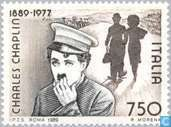 Postage Stamps - Italy [ITA] - Charlie Chaplin