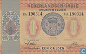 Dutch East Indies 1 Gulden