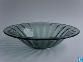 Glas / kristal - Kristalunie - Bambusa schaal duochroom
