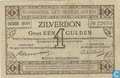 Banknotes - Zilverbon Nederland - 1 guilder Netherlands 1916