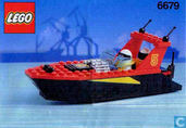 Jouets - Lego - Lego 6679 Dark Shark