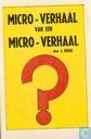 Comics - Micro-verhaal van een micro-verhaal - Micro-verhaal van een micro-verhaal