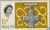 Postzegels - Malta - St. George's Cross