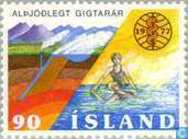 Postage Stamps - Iceland - Anti-Rheuma