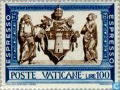 Timbres-poste - Vatican - Merci
