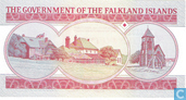 Banknotes - British Administration - Falkland Islands 5 Pounds