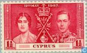 Timbres-poste - Chypre [CYP] - George VI du Couronnement