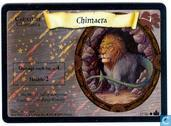 Trading cards - Harry Potter 4) Adventures at Hogwarts - Chimaera