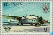 Postage Stamps - Jersey - ICAO 40 years