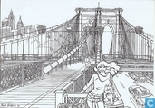 Cartes postales - Franka - Brooklyn Bridge