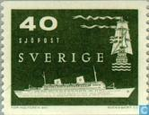 Postage Stamps - Sweden [SWE] - Naval Station on the North Atlantic
