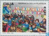 Postage Stamps - Italy [ITA] - Philately school