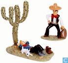 Tintin dort - Bandit