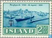 Timbres-poste - Islande - Reykjavik 175 années