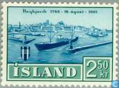 Postzegels - IJsland - Reykjavik 175 jaar