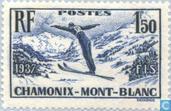 Postzegels - Frankrijk [FRA] - Skikampioenschap Chamonix