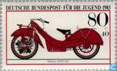 Postzegels - Duitsland, Bondsrepubliek [DEU] - Historische Motorfietsen