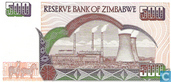 Billets de banque - Reserve Bank of Zimbabwe - Zimbabwe 500 Dollars