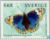 Postage Stamps - Sweden [SWE] - Butterflies