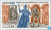 Postzegels - Andorra - Frans - Geschiedenis