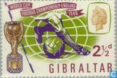 Postzegels - Gibraltar - WK Voetbal