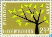 Postage Stamps - Luxembourg - Europe – Tree with 19 Leaves