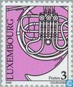 Postzegels - Luxemburg - Muziekinstrumenten