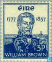 Briefmarken - Irland - 100. Tod Guillermo Brown