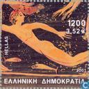 Timbres-poste - Grèce - Olympische Spelen