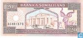 Billets de banque - Somaliland - 1994-2011 Issue - Somaliland 20 Shillings 1994