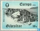 Postage Stamps - Gibraltar - Europe – Human Genius