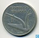 Monnaies - Italie - Italie 10 lires 1951