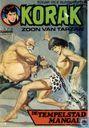 Bandes dessinées - Korak - De tempelstad Mangala