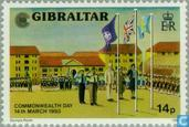 Briefmarken - Gibraltar - Commonwealth Day