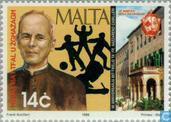 Postage Stamps - Malta - Father Nazzareno Camillieri 90 years