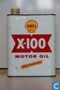 Blikken en trommels - Shell - Olieblik