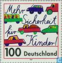 Postage Stamps - Germany, Federal Republic [DEU] - Safety on the streets