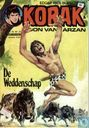 Comics - Korak - De weddenschap