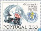 Timbres-poste - Portugal [PRT] - 20 ans OMS